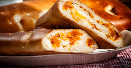 Buttonwood Bakery's Homemade Cheese & Apricot Roll