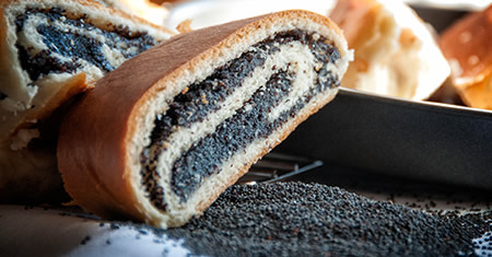 Buttonwood's Fresh Poppy Seed Roll